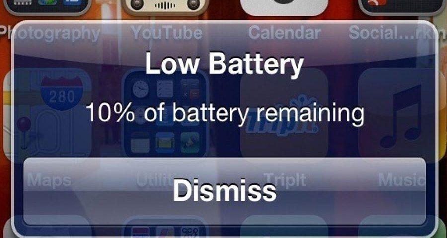 App consumen bateria