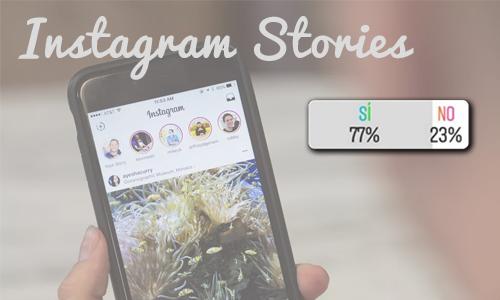 encuestas de Instagram