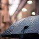 paraguas mojado lluvia