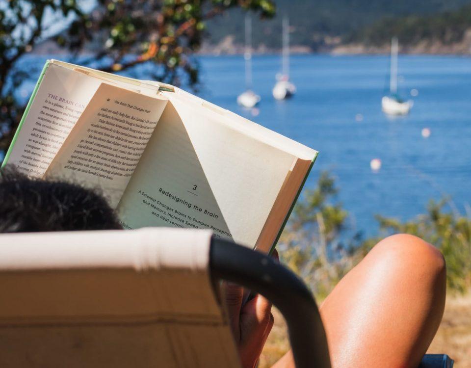 llibre platja
